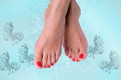 Soak Aquatic Spa - 15 minute Garra Rufa fish pedicure - Save 70%