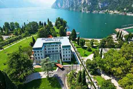 Lido Palace - Five Star Refined Elegance in Striking Lakeside Setting for two - Save 74%