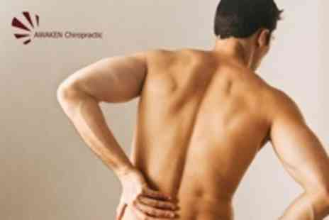 Awaken Chiropractic - Chiropractic Package Spinal Assessment, Health Check and Three Treatments - Save 80%