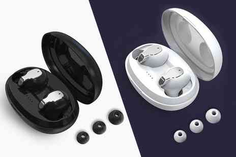 Litnfleek - Pair of Xy 5 Bluetooth 5.0 wireless earphones - Save 0%