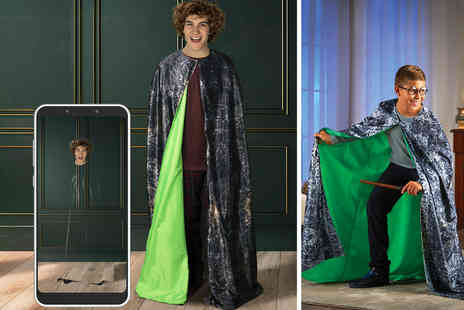 Wow Stuff - Standard Harry Potter invisibility cloak kit or Deathly Hallows invisibility cloak kit - Save 51%