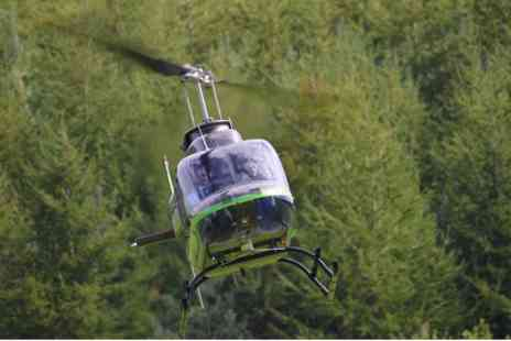 Photo Souvenir - Helicopter Buzz Flight for Two - Save 0%