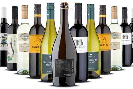 Naked Wines - 12 bottles of wine inc bubbly - Save 61%