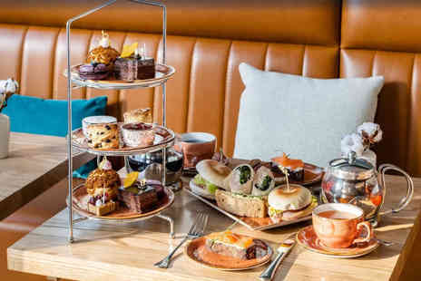 Hotel Indigo Manchester Victoria - Afternoon tea for two people, include a glass of Prosecco or for a festive afternoon tea with Prosecco - Save 36%