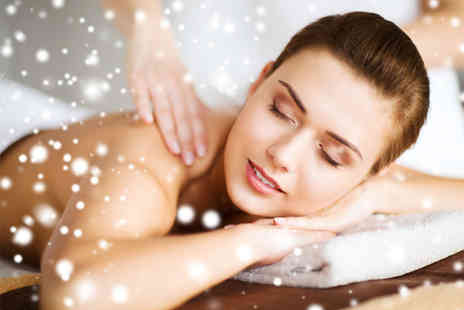 R & G Spiritual Hair Studio - 90 minute winter warmer pamper package for one person with a hot chocolate choose from 26 treatments - Save 70%