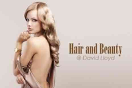 David Lloyd - Cut and Finish With Moroccan Oil Hair Treatment - Save 64%