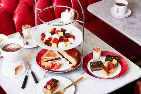 Cafe Rouge - Chocolate afternoon tea and martini for Two - Save 21%