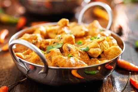 Dudley Spice - Three Course Indian Takeaway with Choice of Side for Up to Four - Save 46%