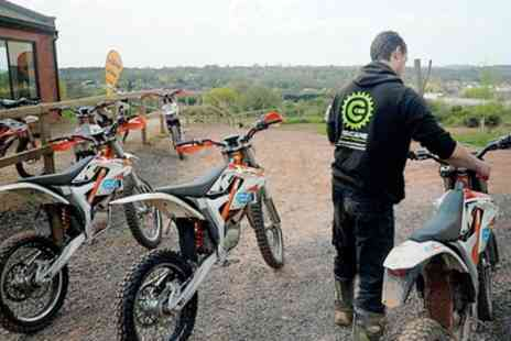 E SCAPE - Electric Dirt Bike Training and Riding Experience for One or Two - Save 31%