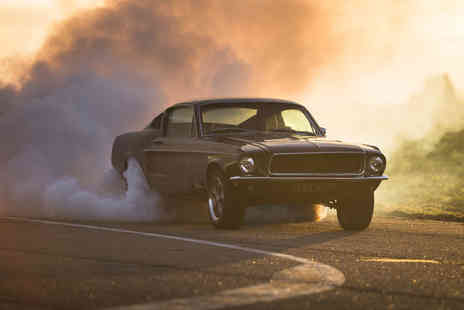 Drift Limits - 14 lap Ford Bullitt Mustang driving experience - Save 50%