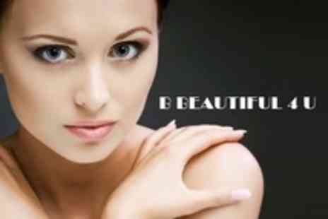B Beautiful 4 U - Mini Manicure and Pedicure Plus Mini Facial - Save 65%