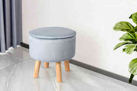 Direct Sourcing Project - Round fabric stool - Save 0%