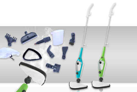 Home Empire - 10 in 1 SteamPro mop - Save 71%