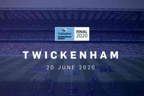Gallagher Premiership Rugby Final at Twickenham - Two, Four or Eight Cat 3 tickets from 20th June - Save 30%