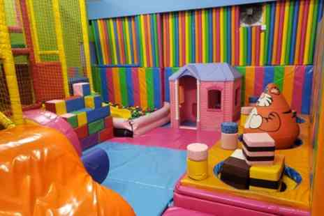 Clown Around - Two Hour Soft Play and Bounce Session for Up to Four Children - Save 63%
