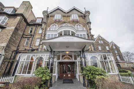 The Cairn Hotel - Overnight Harrogate break for two people in a superior room with hot drinks and biscuits on arrival, a three course carvery style dinner, glass of fizz, breakfast and late check out - Save 65%