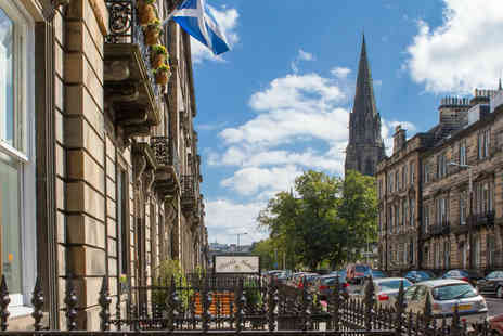Edinburgh Thistle Hotel - Overnight stay for two people with continental breakfast - Save 64%