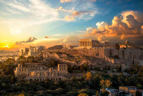 Great Pacific Travels - Four nights Rome and Athens trip with return flights - Save 33%