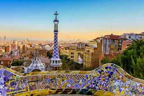 Bargain Late Holidays - Escape with a two, three or four nights getaway to Barcelona Now with the ability to choose your flight - Save 0%