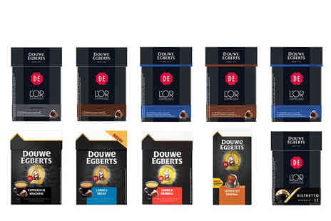 Euro Coffee Pods - 50 pods of Douve Egberts Nespresso Compatible Capsules - Save 71%