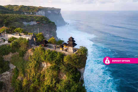 Great Pacific Travels - 10 nights Bali getaway with complimentary message - Save 32%