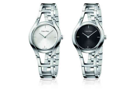 Brand Arena - Calvin Klein Swiss made watch choose from 15 designs - Save 64%