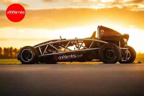 Drift Limits - 14 lap supercharged Ariel Atom driving experience - Save 50%