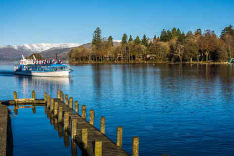 Newby Bridge Hotel - Four Star Overnight Lake District getaway with dinner, breakfast, leisure access and Windermere cruise - Save 20%
