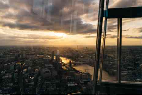 The View From The Shard - Five Star One Night Break at the Flemings Mayfair and Londons Highest Gin Masterclass for Two - Save 0%