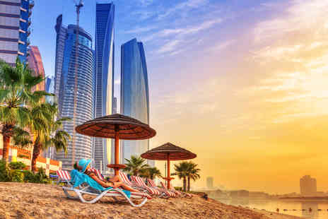 Great Pacific Travels - Five nights Dubai and Abu Dhabi multi city break with coach transfer and flights - Save 46%