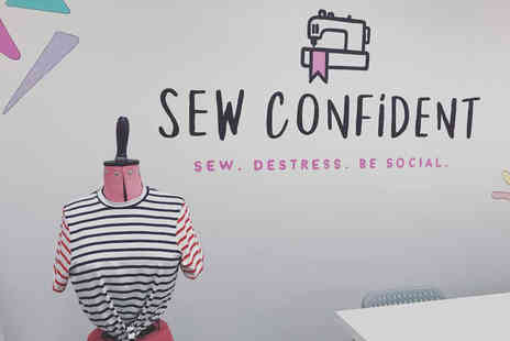 Sew Confident - Three hour tote bag sewing class - Save 50%