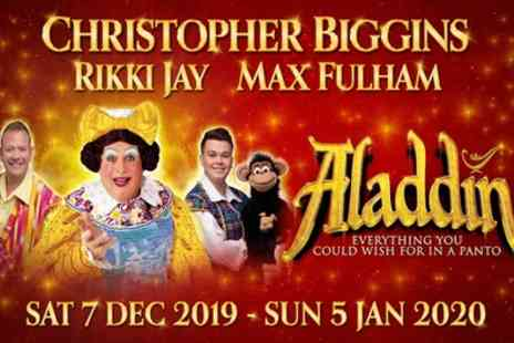 Churchill Theatre Bromley - One best available Band A ticket to Aladdin pantomime from 30th December 2019 To 5th January 2020 - Save 33%