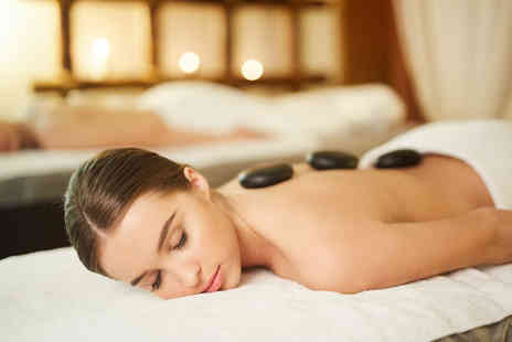 Beauty on the spot - 30 minutes hot stone or aromatherapy back, neck and shoulder massage and a 30 minutes facial for one person - Save 74%