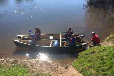 Ross on Wye Canoe Hire - Full Day Canoe Trip for Four - Save 69%