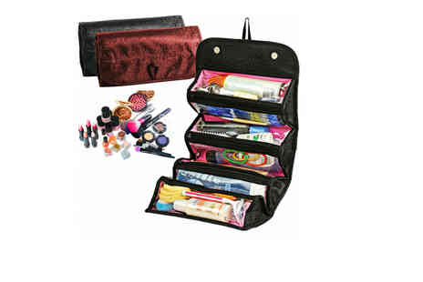 Yello Goods - Roll up folding makeup organiser - Save 80%