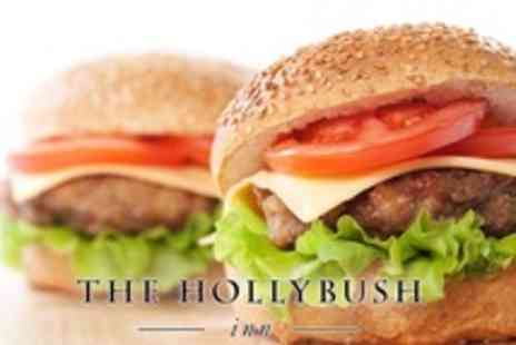 The Hollybush Inn - Burger and Chips For Two With Drinks - Save 51%