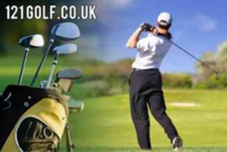 121 Golf.co.uk - Six PGA Professional Golf Lessons With Video Analysis - Save 20%