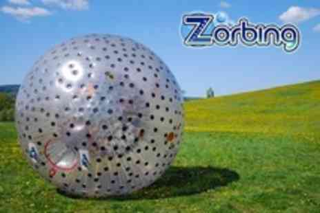 Rutland Zorbing - Dual Zorbing For Two - Save 30%