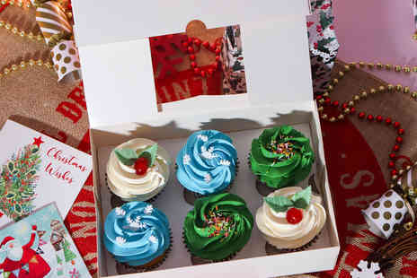 Cakes Today - Six festive cupcakes - Save 36%