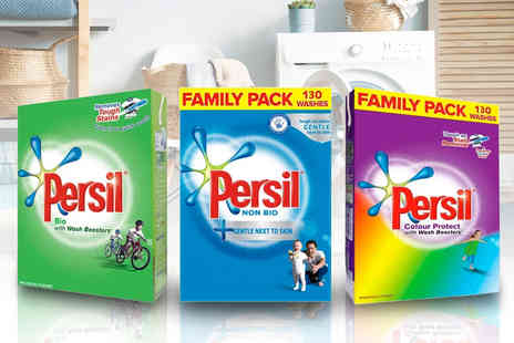 Avant Garde - 130 washes Persil washing powder pack Choose your option - Save 47%