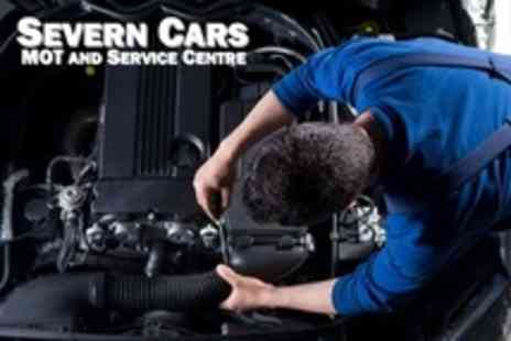 Severn Cars MOT - MOT Plus Safety Report and Mini Valet - Save 73%