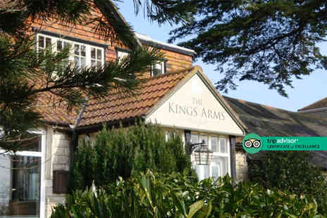 The Kings Arms - One Night break with breakfast and two glasses of wine on arrival - Save 52%