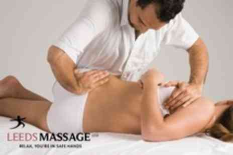 Leeds Massage - Choice of One Hour Massage Such as Deep Tissue - Save 78%