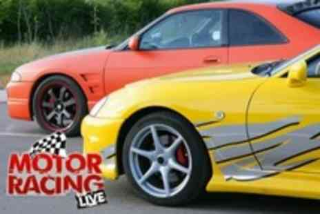 Motor Racing Live - Entry to Drift Championship Race Plus Three Passenger Laps With Professional Driver - Save 52%