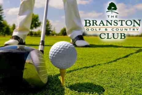 The Branston Golf and Country Club - Nine Holes of Golf For Two - Save 64%