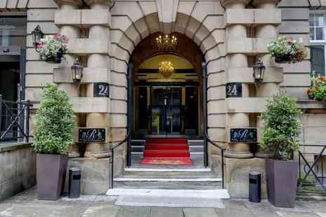 The Richmond Hotel - Four Star Overnight Liverpool city break for two people with breakfast and a bottle of Prosecco to share - Save 33%