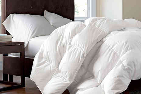 Direct Warehouse - Single 13.5 tog duck feather and down duvet - Save 56%