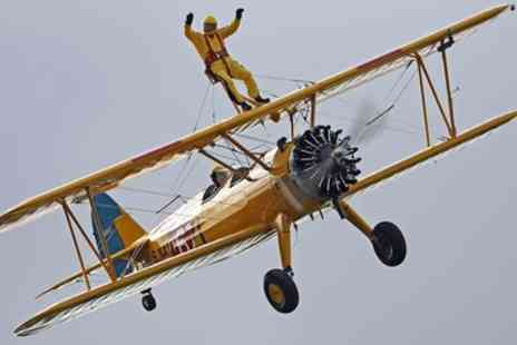 WingWalk Displays - 10 Minute Wing Walking Experience - Save 32%