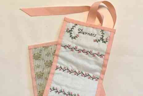 Duttons for Buttons - Heritage Needlecraft Workshop Bronte Needle Roll and Regency Embroidery - Save 0%