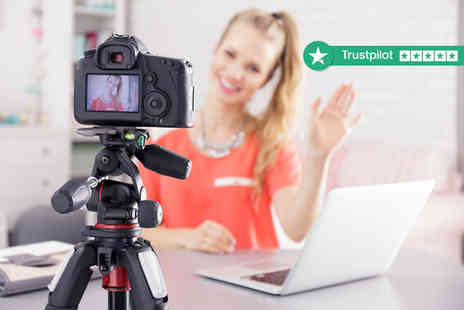 New Skills Academy - Accredited blogging or vlogging course - Save 88%